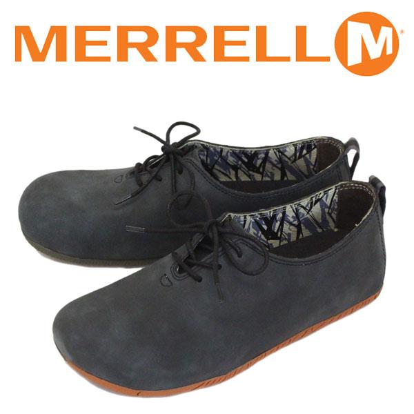 正規取扱店 MERRELL (メレル) J20551 Motopia Lace ムートピア レース レザーシューズ BLACK MRL030