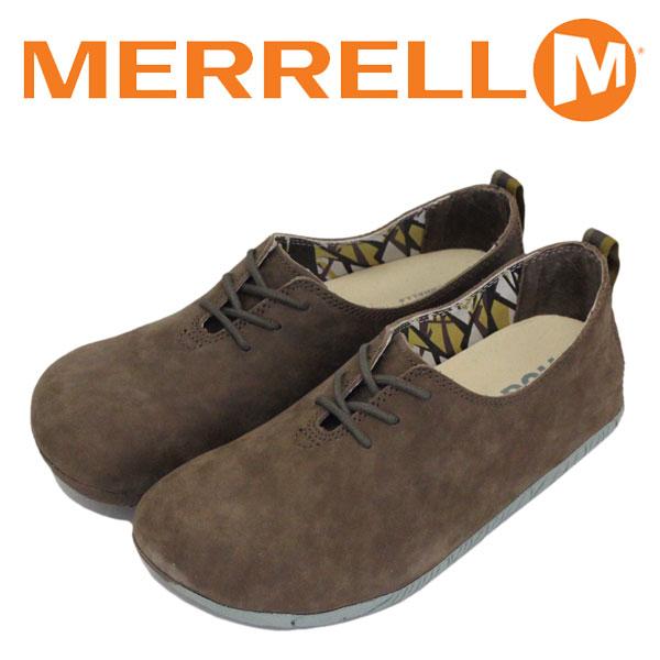 正規取扱店 MERRELL (メレル) J20558 WMS Motopia Lace ムートピア レース レディース レザーシューズ Bronte Brown MRL034
