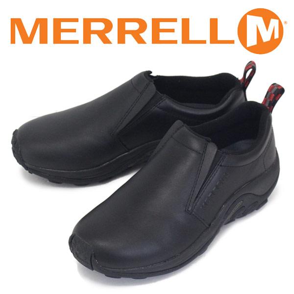 正規取扱店 MERRELL (メレル) J567113 JUNGLE MOC LEATHER ジャングルモック スムースレザーシューズ BLACK MRL011