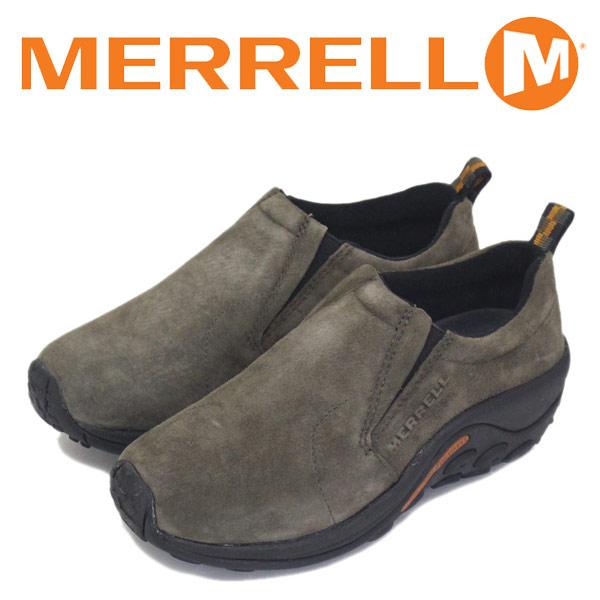 正規取扱店 MERRELL (メレル) J60788 ウィメンズ JUNGLE MOC ジャングルモック アウトドア レザーシューズ GUNSMOKE MRL008