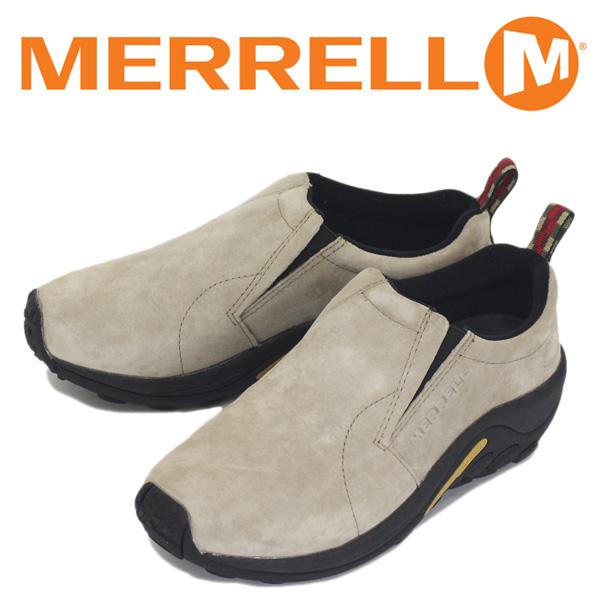 正規取扱店 MERRELL (メレル) J60801 メンズ JUNGLE MOC ジャングルモック アウトドア レザーシューズ CLASSIC TAUPE MRL001
