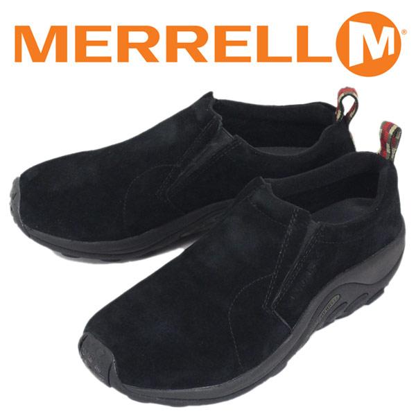 正規取扱店 MERRELL (メレル) J60825 メンズ JUNGLE MOC ジャングルモック アウトドア レザーシューズ MIDNIGHT MRL004