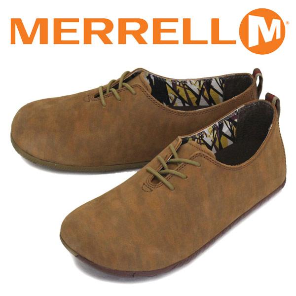 正規取扱店 MERRELL (メレル) J20555 Motopia Lace ムートピア レース レザーシューズ LIGHT BROWN MRL060