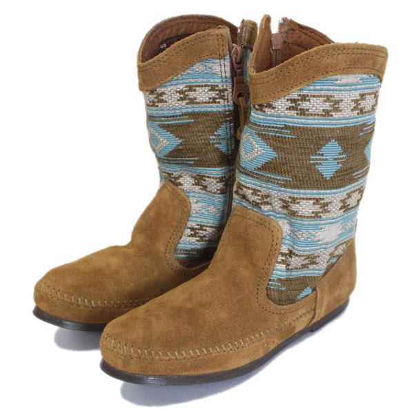 正規取扱店 MINNETONKA(ミネトンカ) Baja Boot(バジャブーツ) #1578 TURQUOISE レディース MT402