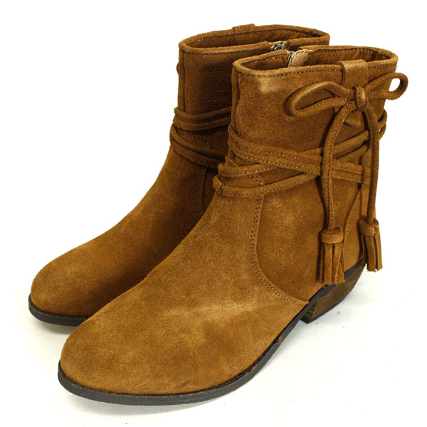 sale セール 正規取扱店 MINNETONKA(ミネトンカ) Mesa Boot(メサブーツ) #83032 BROWN レディース MT372