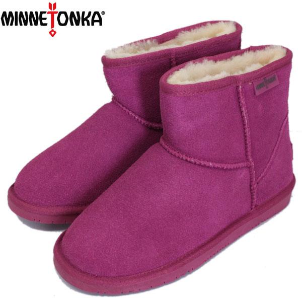 正規取扱店 MINNETONKA(ミネトンカ) Limited Edition VISTA ANKLE BOOT(限定ヴィスタアンクルブーツ) #85505 FUCHSIA レディース MT426