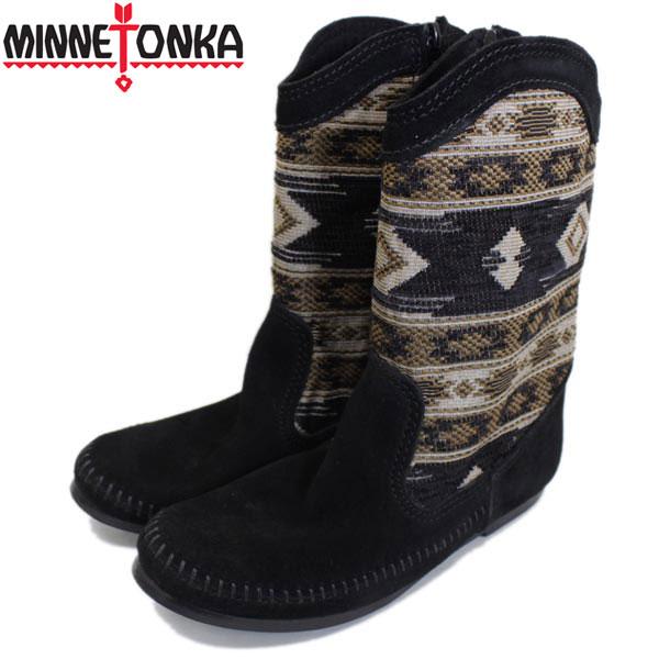 正規取扱店 MINNETONKA(ミネトンカ) Baja Boot(バジャブーツ) #1570 BLACK レディース MT333
