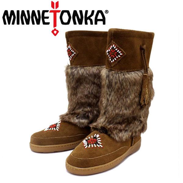 正規取扱店 MINNETONKA(ミネトンカ) Mukluk High Boot(マクラックハイブーツ) #3783 DUSTY BROWN レディース MT259