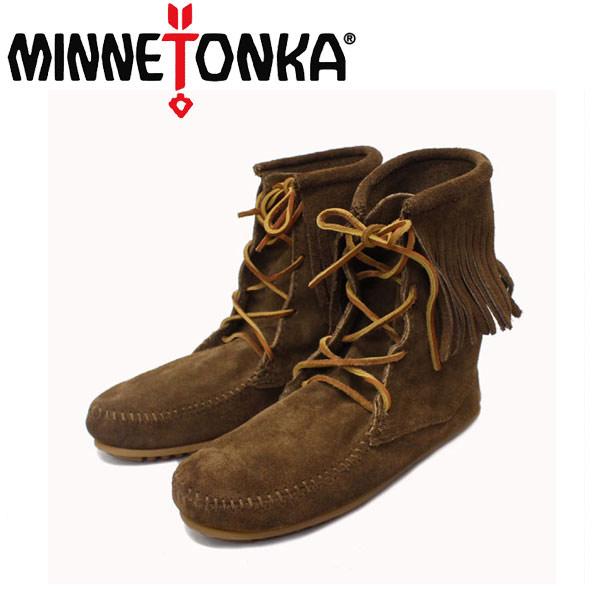 sale セール 正規取扱店 MINNETONKA(ミネトンカ) Tramper Ankle Boots(トランパーアンクルハイブーツ)#428 DUSTY BROWN SUEDE レディース MT222