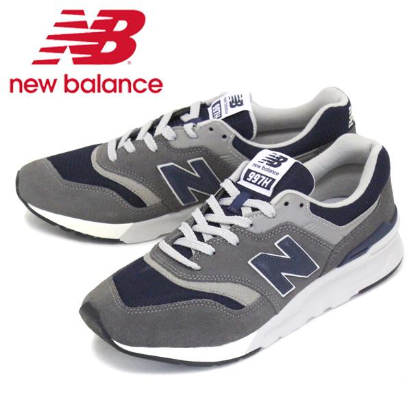 正規取扱店 new balance (ニューバランス) CM997H AX スニーカー GRAY/NAVY NB699