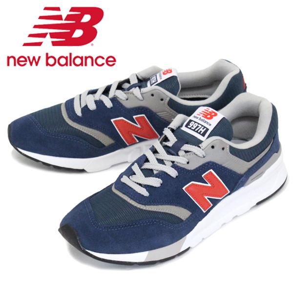 正規取扱店 new balance (ニューバランス) CM997H AY スニーカー NAVY/RED NB700