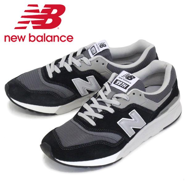 正規取扱店 new balance (ニューバランス) CM997H BK スニーカー BLACK/GRAY NB701