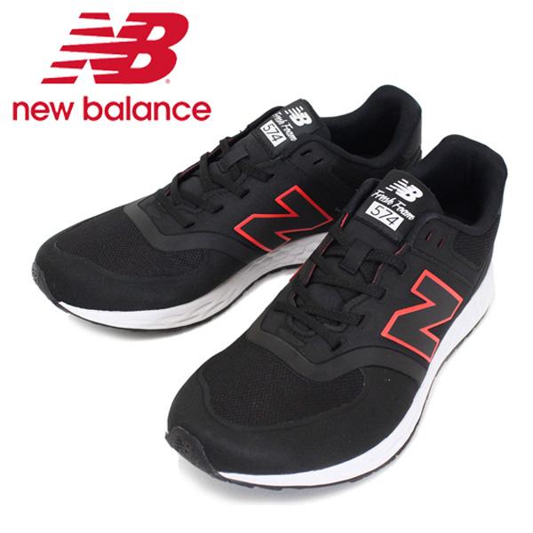 正規取扱店 new balance(ニューバランス) MFL574 BP BLACK ローカット スニーカー NB484