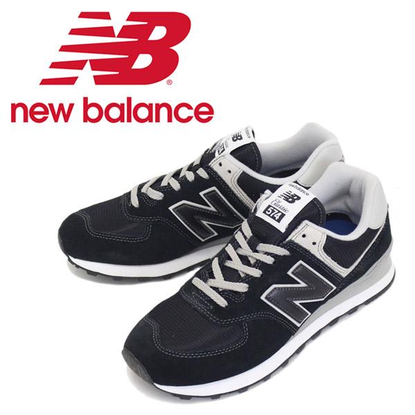 正規取扱店 new balance (ニューバランス) ML574 EGK スニーカー BLACK NB529