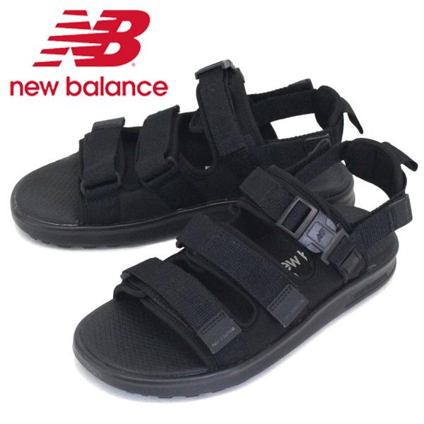 正規取扱店 new balance (ニューバランス) SDL750 TK サンダル BLACK NB721