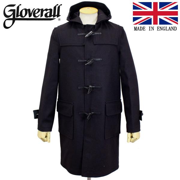 スーパーセール正規取扱店 GLOVERALL (グローバーオール) 3681-MM CLOTH ダッフルロングコート 日本別注 03-NAVY GLA004