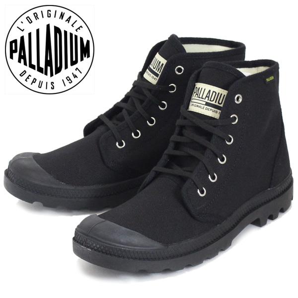 正規取扱店 PALLADIUM (パラディウム) 75349-060 Pampa Hi パンパハイ オリジナーレ スニーカー Black/Black PD102