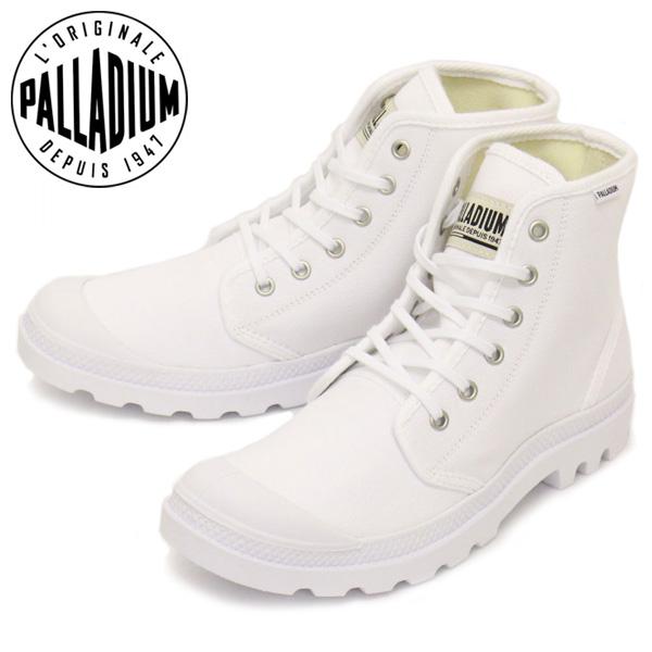 正規取扱店 PALLADIUM (パラディウム) 75349 Pampa Hi パンパハイ オリジナーレ スニーカー 101 White/White PD125