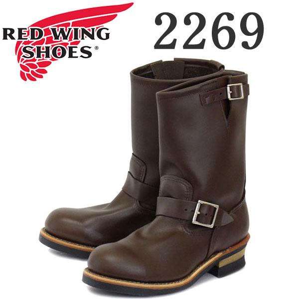 正規取扱店 Red Wing(レッドウィング レッドウイング) 2269 ENGINEER BOOTS(エンジニアブーツ) Chocolate Chrome Leather