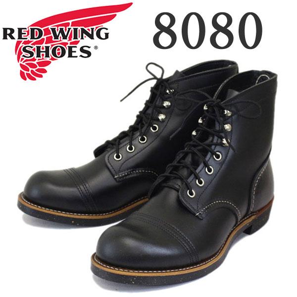 正規取扱店 2016-2017年 新作 RED WING (レッドウィング) 8080 Iron Range Boots (アイアンレンジブーツ) キャップドトゥ ブラッククローム