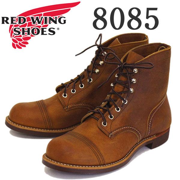 正規取扱店 2017-2018年 新作 REDWING (レッドウィング) 8085 Iron Range (アイアンレンジブーツ) カッパーラフアンドタフ