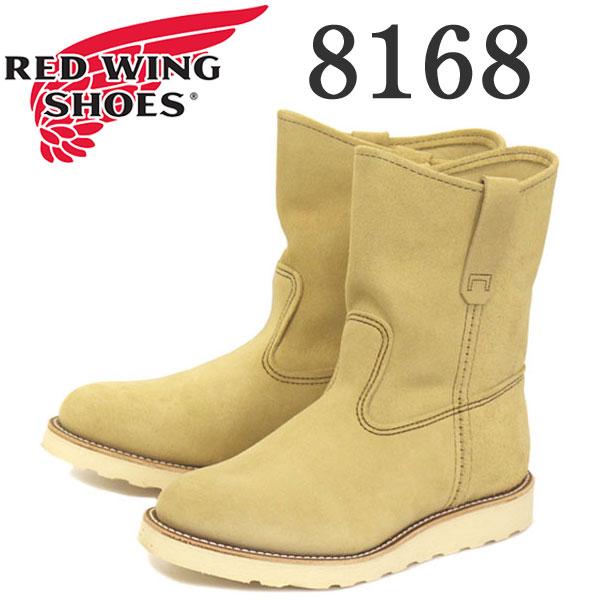 正規取扱店 Red Wing(レッドウィング レッドウイング) 8168 9インチ PECOS BOOTS(ペコスブーツ) ベージュ・ラフアウト(スエード)