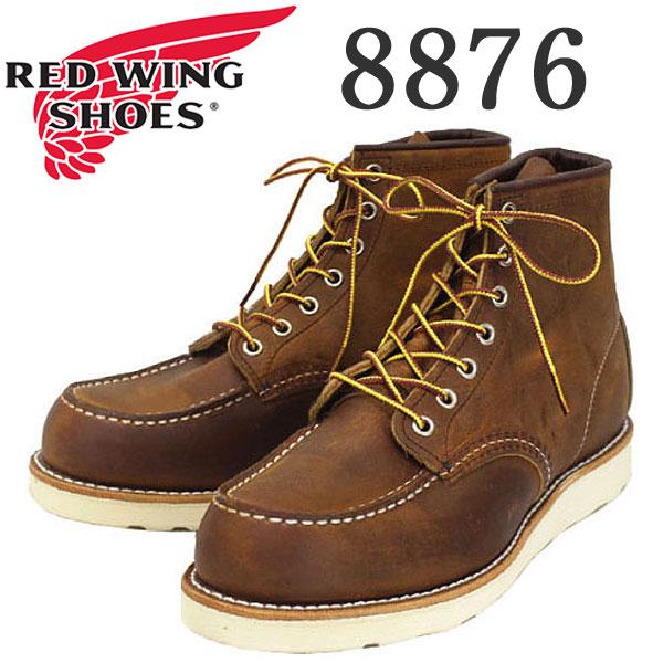 正規取扱店 REDWING (レッドウィング) 8876 Classic Moc Toe (クラシックモックトゥ) カッパーラフアンドタフ