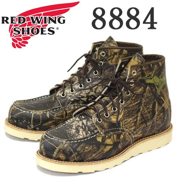 正規取扱店 2016-2017年 新作 RED WING (レッドウィング) 8884 Classic Work 6inch Moc-toe (6インチモックトゥ) カモフラージュ (MossyOak BreakUp)