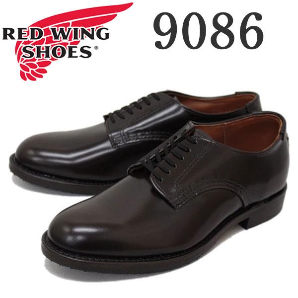 正規取扱店 2016新作 RED WING (レッドウィング) 9086 Mil-1 Blucher Oxford (ミルワンブルーチャーオックスフォード) プレーントゥ ローカットブーツ シガー