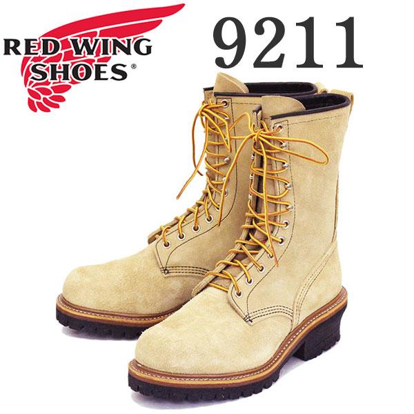 正規取扱店 2019-2020年 新作 REDWING (レッドウィング) 9211 9inch Logger (Steel-toe) 9インチロガーブーツ スチールトゥ タンブルハイドラフアウト