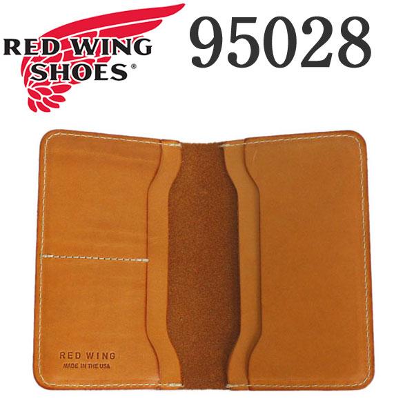 正規取扱店 2018年 新作 REDWING (レッドウィング) 95028 Passport Case (パスポートケース) ハーマンオークブライドル (タン)