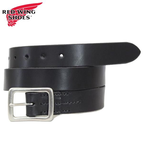正規取扱店 RED WING(レッドウィング) 96562 Leather Belt (レザーベルト) 32mm Black