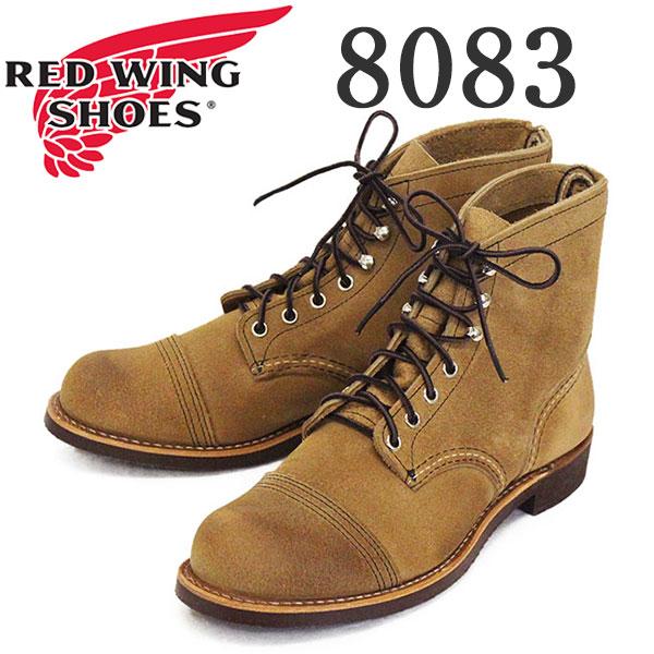 正規取扱店 2020年 新作 REDWING (レッドウィング) 8083 Iron Ranger アイアンレンジャー ホーソーンミュールスキナーラフアウト