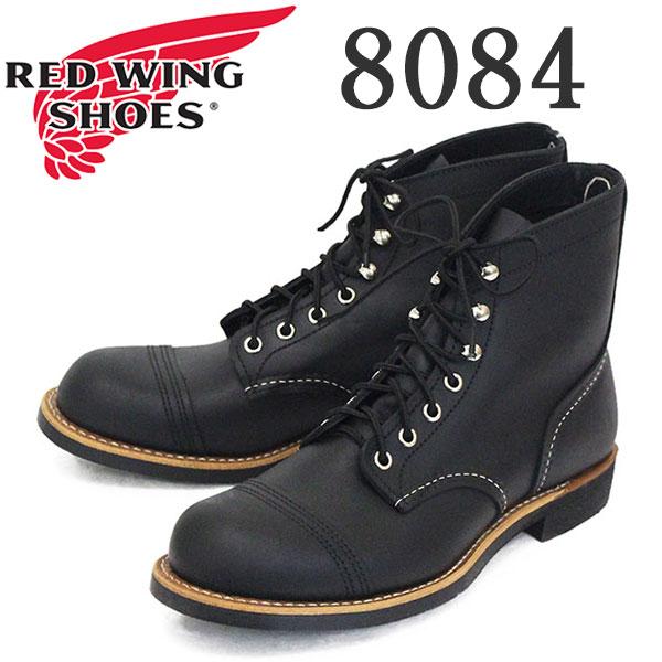 正規取扱店 2020年 新作 REDWING (レッドウィング) 8084 Iron Ranger アイアンレンジャー ブラックハーネス