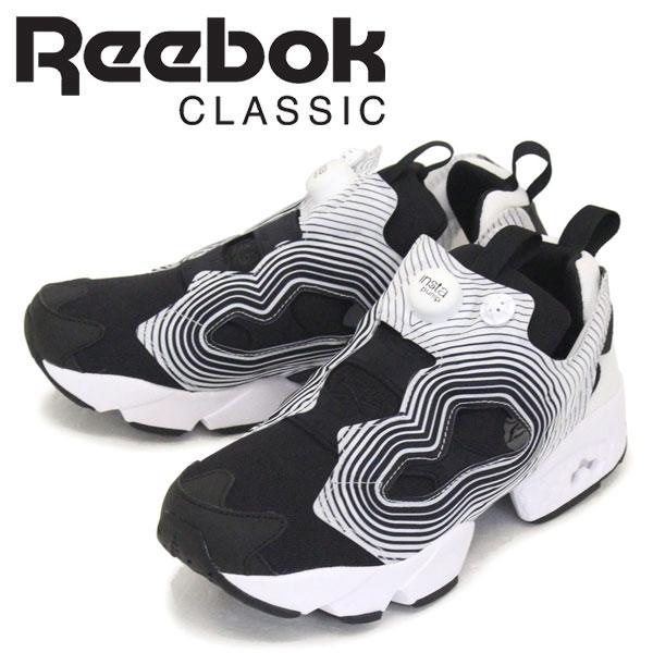 正規取扱店 Reebok (リーボック) FV4501 INSTAPUMP FURY OG NM インスタポンプ フューリー スニーカー ブラック/ホワイト RB099