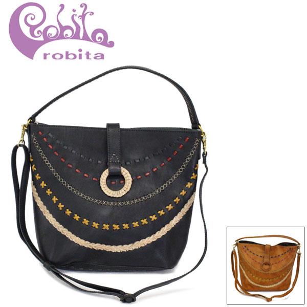 正規取扱店 robita (ロビタ) R193-003 ステッチ ワンショルダー トートバッグ 全2色 RBT063