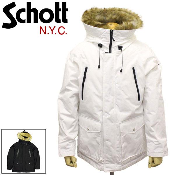 正規取扱店 Schott (ショット) 3192035 SNORKEL DOWN PARKA シュノーケルダウンパーカー 全2色