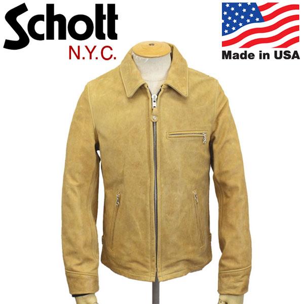 正規取扱店 Schott (ショット) No.7209 103US TRUCKER JKT トラッカージャケット アメリカ製 50CAMEL