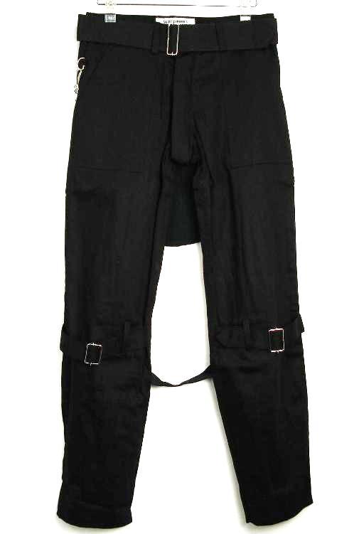 正規取扱店 SEDITIONARIES by 666 (セディショナリーズ) Bondage Trousers(ボンデッジトラウザーズ、ボンテージパンツ) 黒 ブラックSTP0001