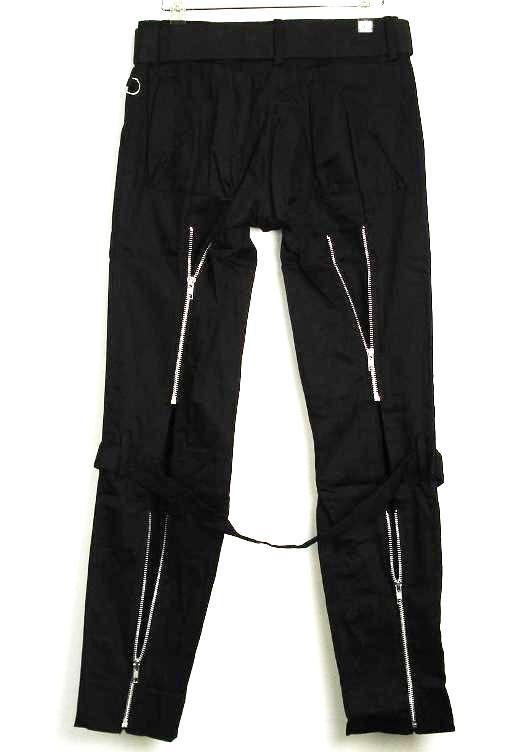 正规的经销商SEDITIONARIES by 666(sedishonarizu)Bondage Trousers(bondejjitorauzazu,bontejipantsu)黑黑色