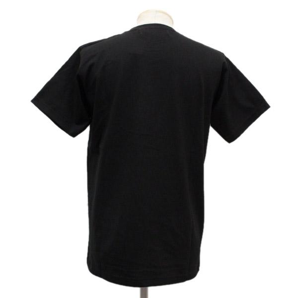 正规的经销商SEDITIONARIES by 666(sedishonarizu)TOO FAST TO LIVE TOO YOUNG TO DIE T恤黑色x银子金色金属线STO008