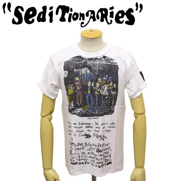 正規取扱店 SEDITIONARIES by 666 (セディショナリーズ) STZ0006 OLIVER TWIST インサイドアウトTシャツ ホワイト