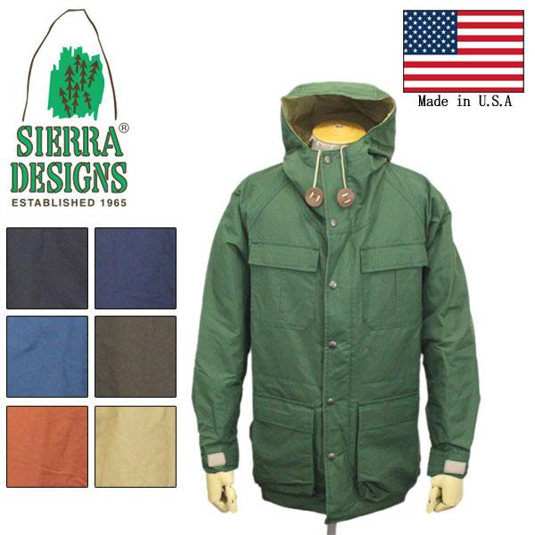 正規取扱店 SIERRA DESIGNS (シエラデザインズ) 7910 MOUNTAIN PARKA マウンテンパーカー 米国製 全7色 SD001