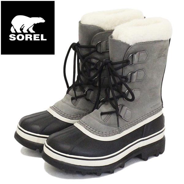正規取扱店 SOREL (ソレル) NL1005 CARIBOU カリブー レディース スノーブーツ 051 SHALE/STONE SRL036