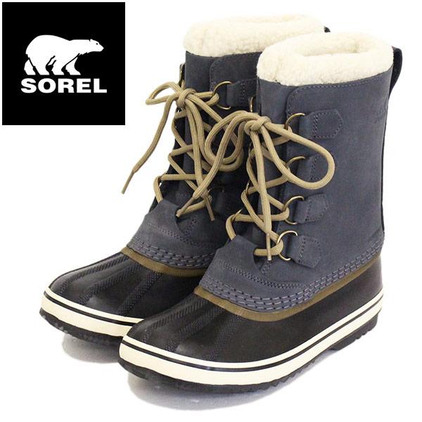 正規取扱店 SOREL (ソレル) NL1645 1964 PAC 2 1964パック2 レディース スノーブーツ 048 COAL SRL037