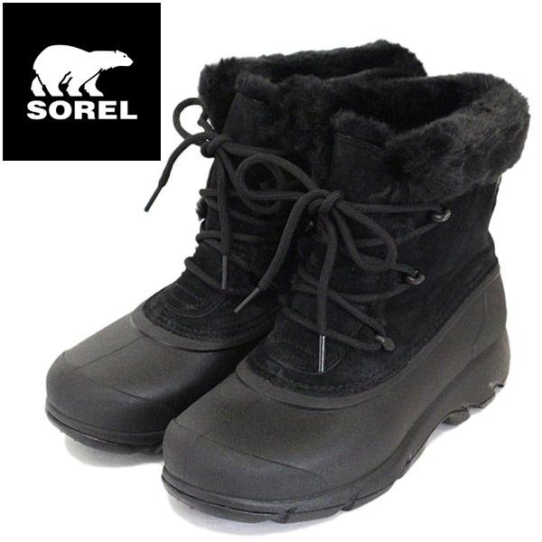 正規取扱店 SOREL (ソレル) NL3482 SNOW ANGEL スノーエンジェル レディース スノーブーツ 010 BLACK SRL044