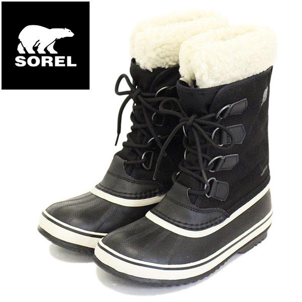 正規取扱店 SOREL (ソレル) NL3483 WINTER CARNIVAL ウィンターカーニバル レディース スノーブーツ 011 BLACK/STONE SRL039