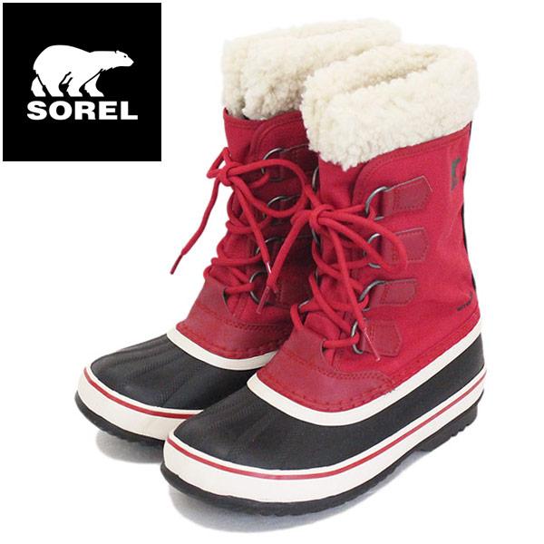 正規取扱店 SOREL (ソレル) NL3483 WINTER CARNIVAL ウィンターカーニバル レディース スノーブーツ 613 MOUNTAIN RED SRL041