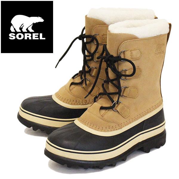 正規取扱店 SOREL (ソレル) NM1000 CARIBOU カリブー メンズ スノーブーツ 281 BUFF SRL003