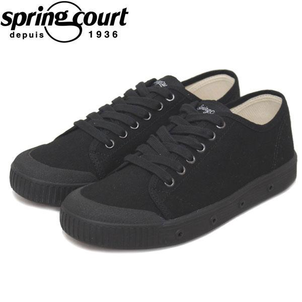 正規取扱店 spring court (スプリングコート) G2S-V1 G2 Classic Canvas (クラシックキャンバス) レディース スニーカー BLACK (ブラック) SPC003